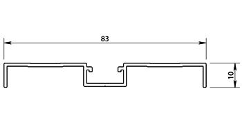 Plan profil plinthe