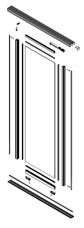 Vue éclatée - P810 Roulement bas