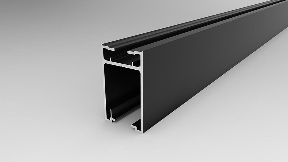 Profil porte battante P66