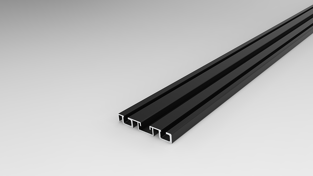 Rail bas 65 noir